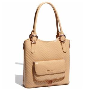 Ted Baker Celtis Quilted Shopper Purse Handbag